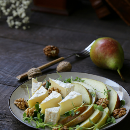 pears with cream cheese