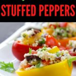 easy and quick stuffed peppers