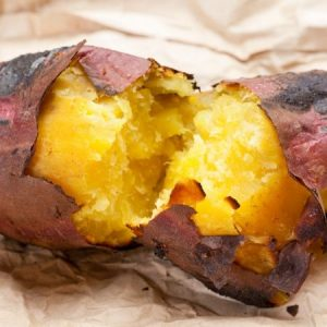 how to bake sweet potato