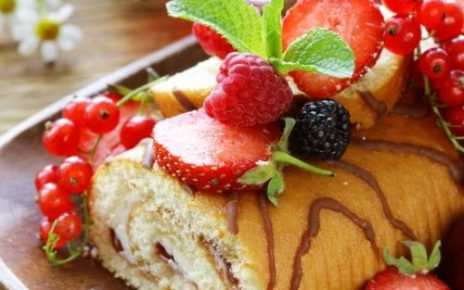 Raspberry Swiss Roll Recipe