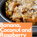 Banana, Coconut and Raspberry Muffin Recipe