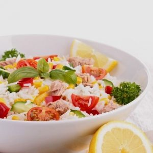 the best and easiest rice salad recipe